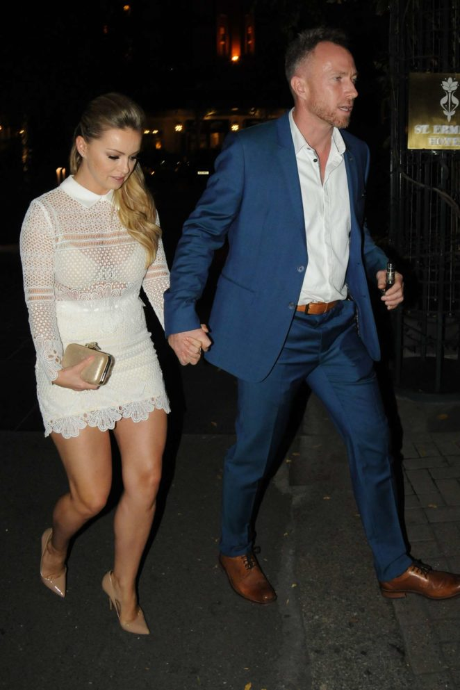 Ola Jordan - Arrives at The Best Heroes Awards in London