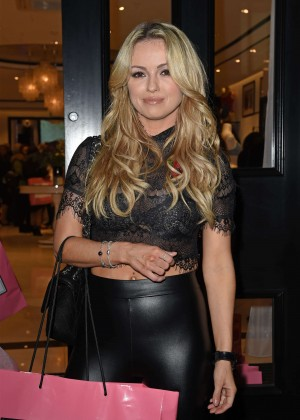 Ola Jordan - Boux Avenue Oxford Street Store Launch in London
