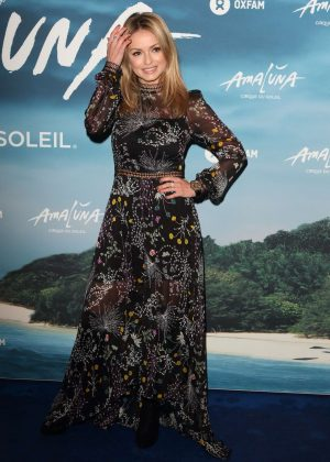 Ola Jordan - Cirque du Soleil: Amaluna Press Night in London
