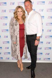 Ola Jordan - On 'Loose Women' TV Show in London