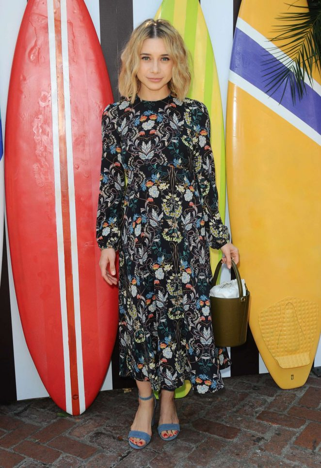 Olesya Rulin – Henri Bendel Surf Sport Collection in Los Angeles