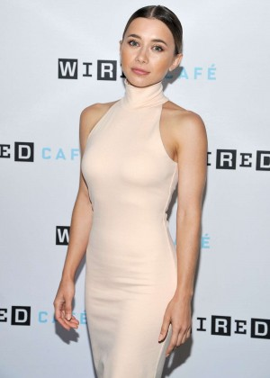 Olesya Rulin - Wired Cafe at Comic-Con in San Diego