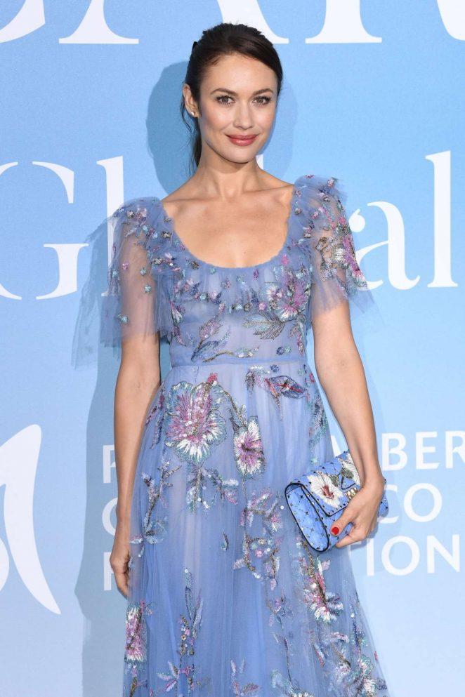 Olga Kurylenko – 2018 Gala for the Global Ocean in Monte-Carlo