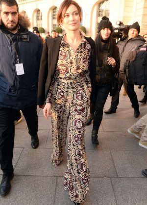 Olga Kurylenko - Arrives at Schiapparelli Fashion Show 2017 in Paris