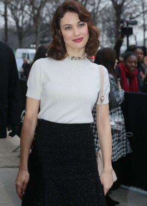 Olga Kurylenko - Arrives at the Chanel Fashion Show FW 2017 in Paris