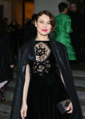Olga Kurylenko at Giorgio Armani Prive Fashion Show 2017 in Paris