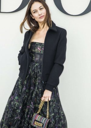 Olga Kurylenko - Christian Dior Fashion Show in Paris