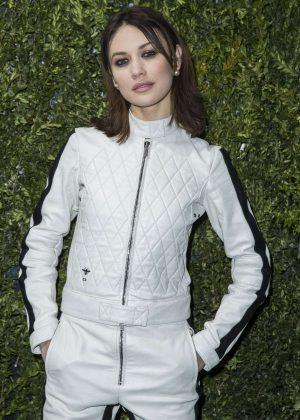 Olga Kurylenko - Christian Dior Haute Couture SS 2017 Show in Paris