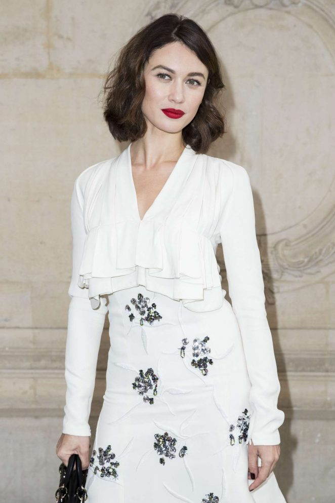 Olga Kurylenko - Christian Dior Show SS 2017 in Paris