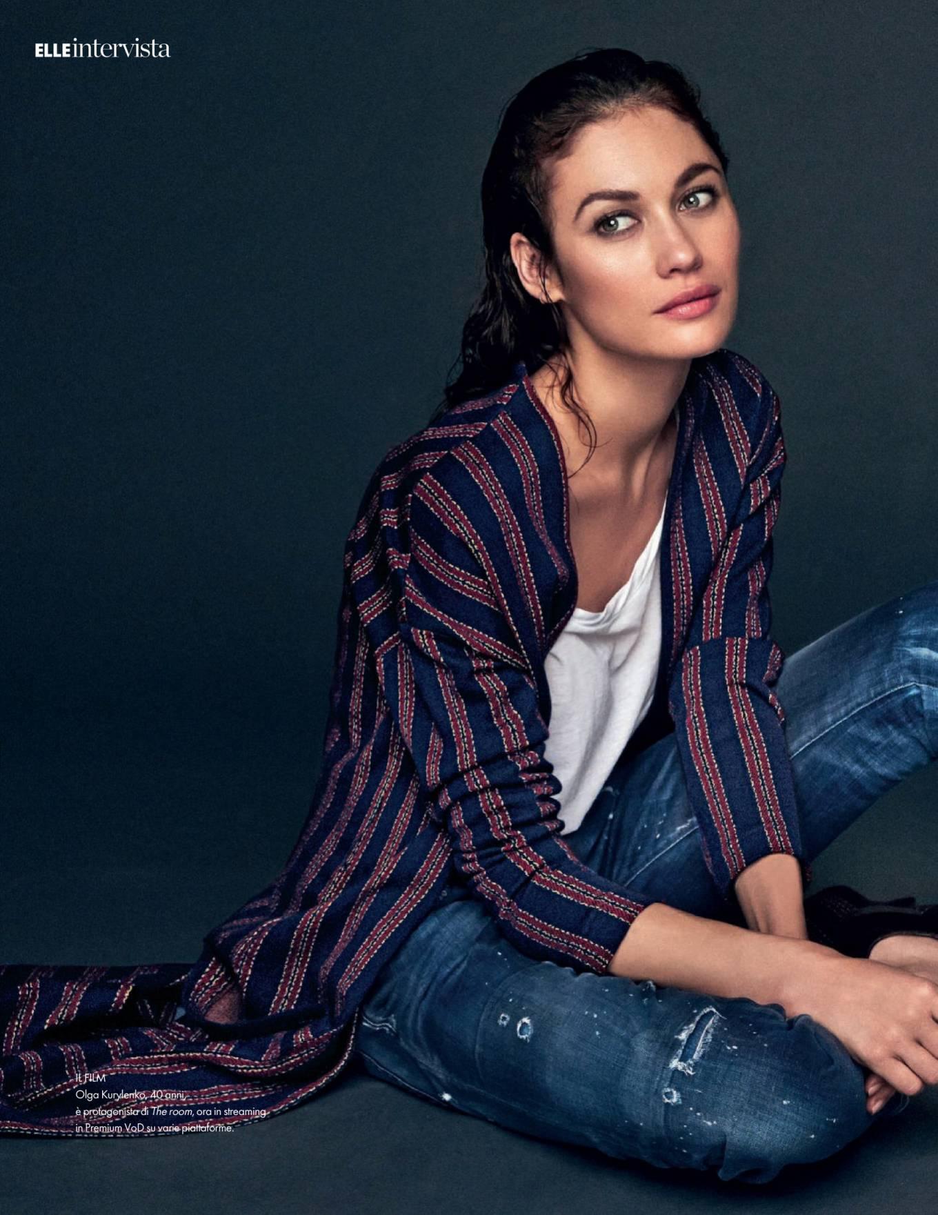 Olga Kurylenko - Elle Italy Magazine (July 2020)