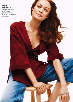 Olga Kurylenko: Lucky Magazine 2015 -02 - GotCeleb  Olga Kurylenko