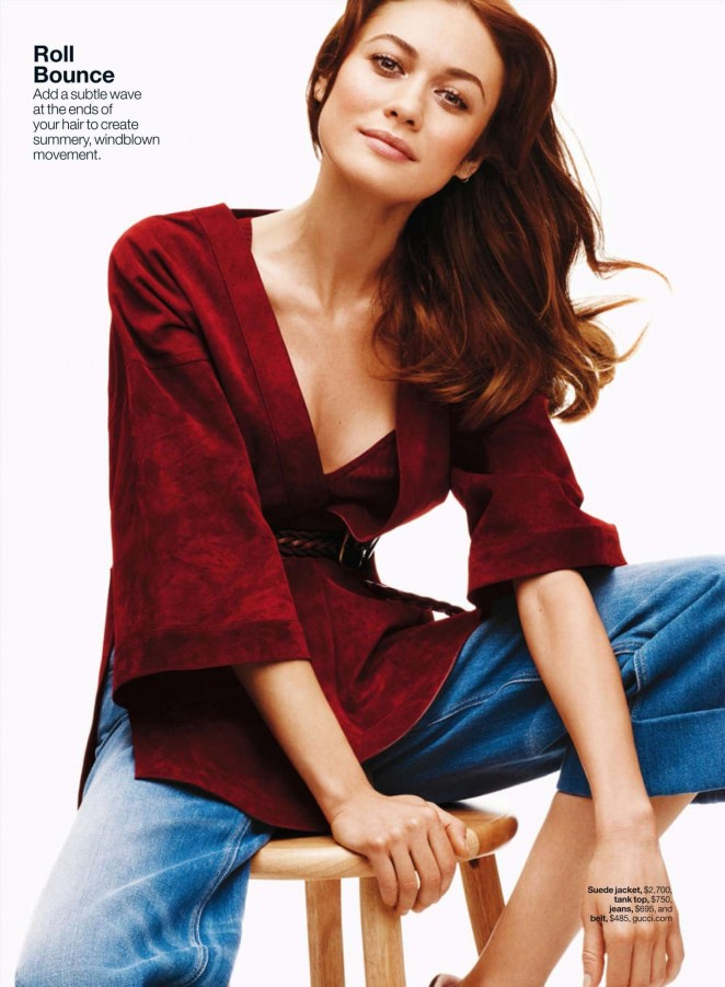 Olga Kurylenko - Lucky Magazine (May 2015)