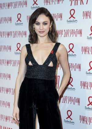 Olga Kurylenko - Sidaction Gala Dinner SS 2017 in Paris