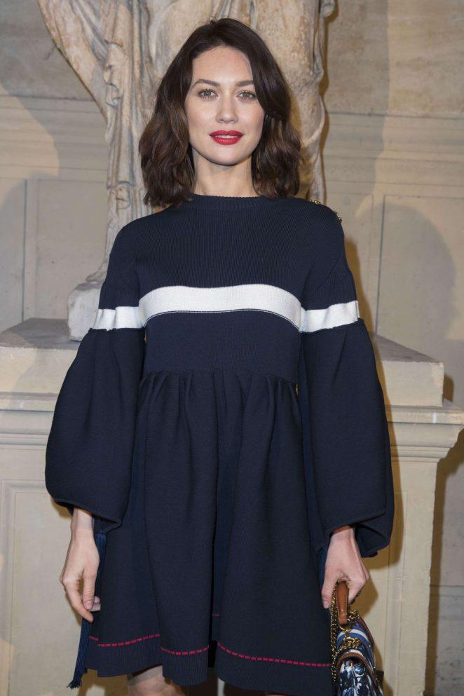 Olga Kurylenko - Sonia Rykiel Fashion Show at 2017 PFW in Paris