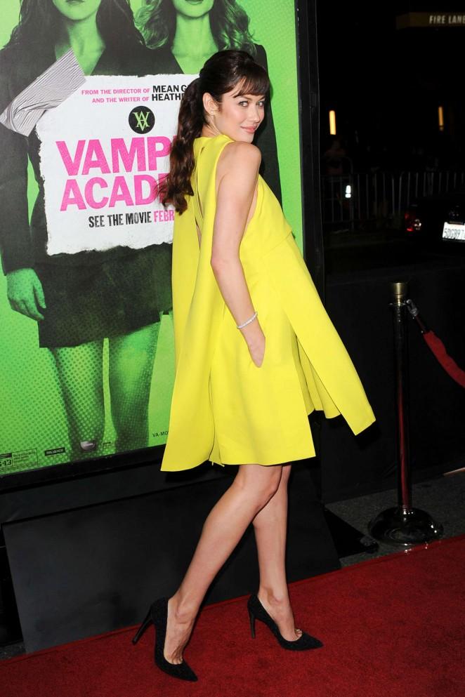 "Olga Kurylenko – ""Vampire Academy"" Premiere in Los Angeles"