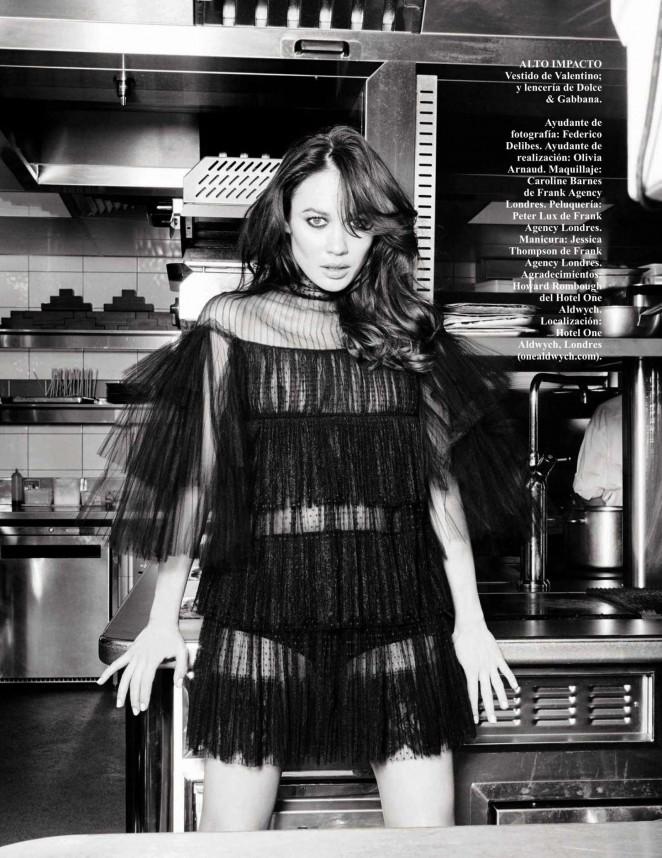 Olga Kurylenko - Vogue Spain Magazine (August 2015)