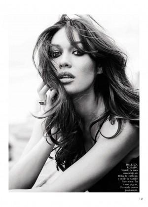 Olga Kurylenko – Vogue Spain Magazine (August 2015)  Olga Kurylenko