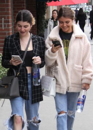 Olivia and Isabella Giannulli - Out in Beverly Hills
