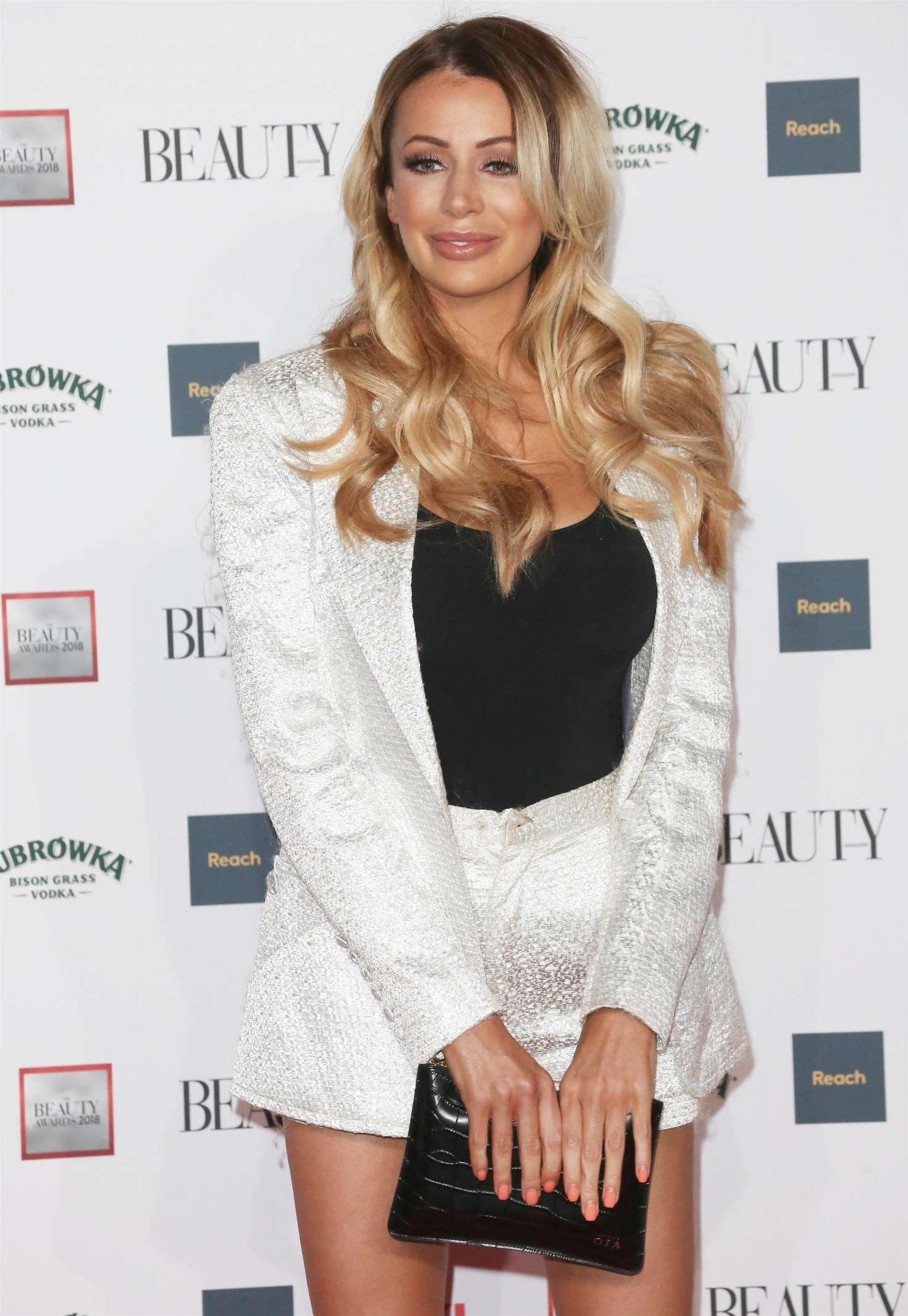 Olivia Attwood - 2018 Beauty Awards with OK! in London