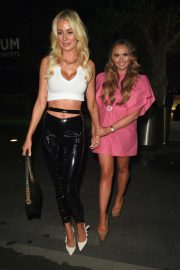 Olivia Attwood and Charlotte Dawson - Night out at Impossible in Manchester