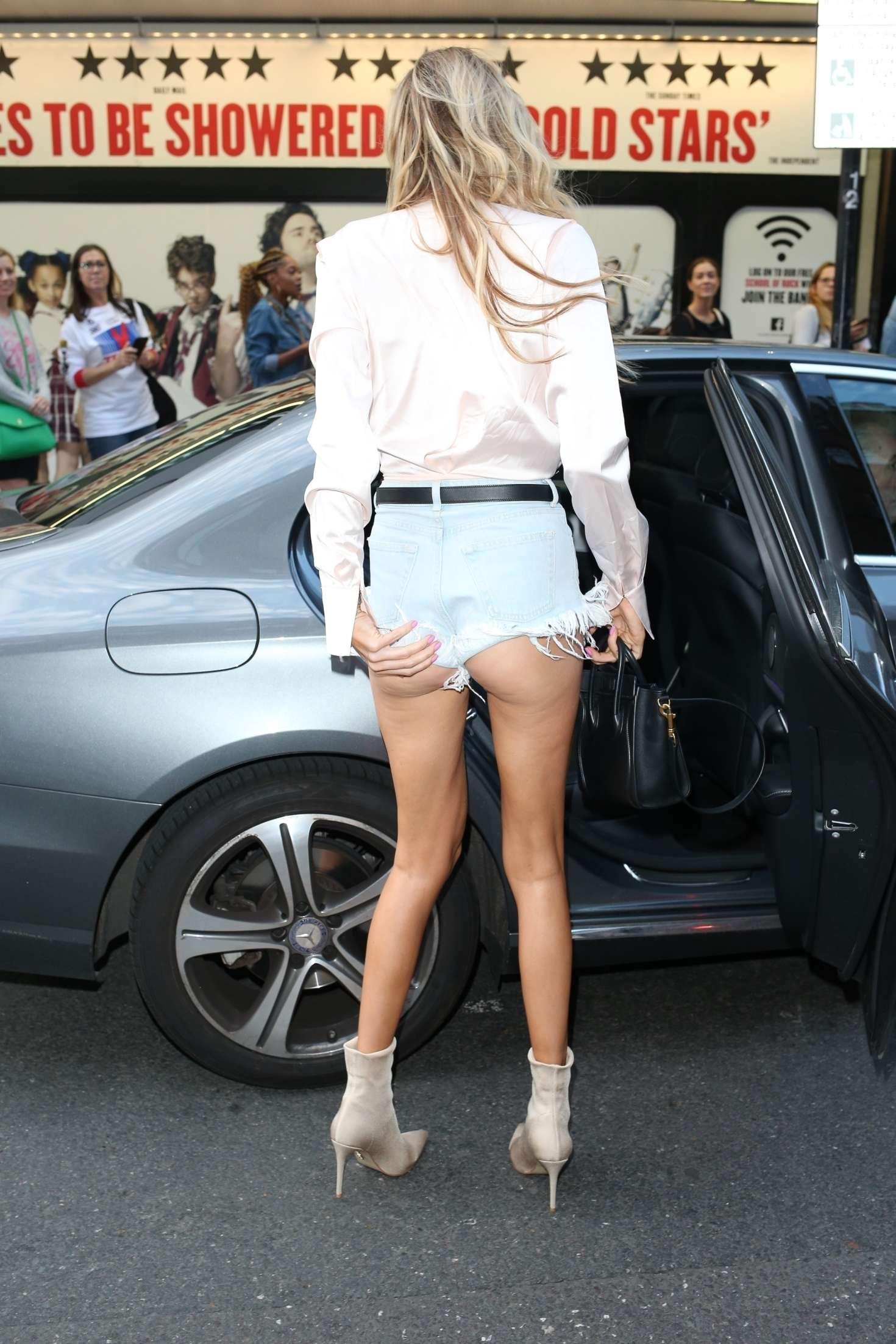 Olivia Attwood in Denim Shorts -12 - GotCeleb