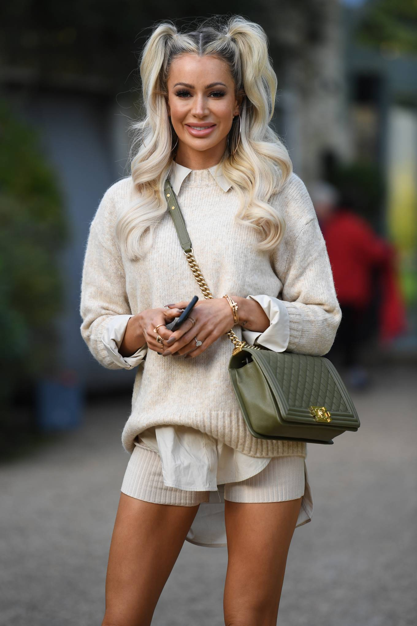 Olivia Attwood 2020 : Olivia Attwood – The Only Way is Essex TV Show filming in Essex-05