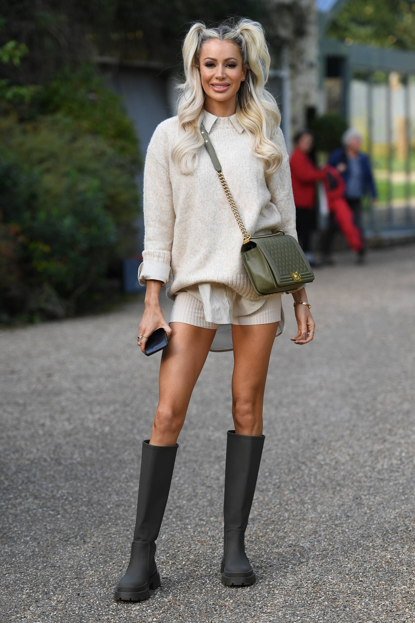 Olivia Attwood 2020 : Olivia Attwood – The Only Way is Essex TV Show filming in Essex-07