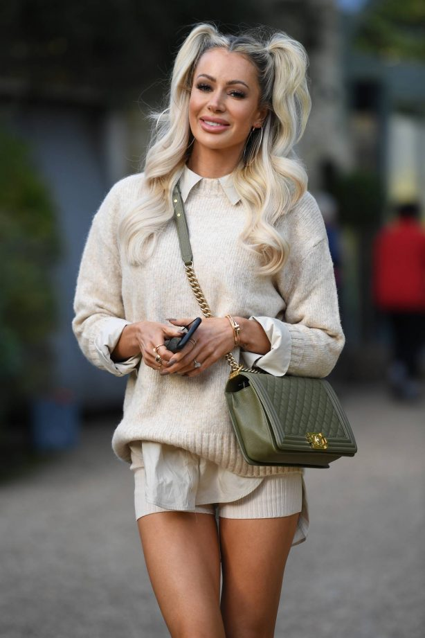 Olivia Attwood - The Only Way is Essex TV Show filming in Essex