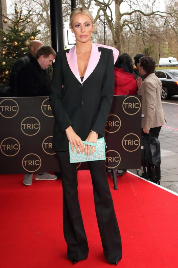 Olivia Attwood - TRIC Christmas Charity Lunch 2019 in London