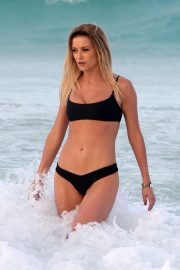 Olivia Bentley and Joshua Ritchie - On Vacation in Punta Cuna