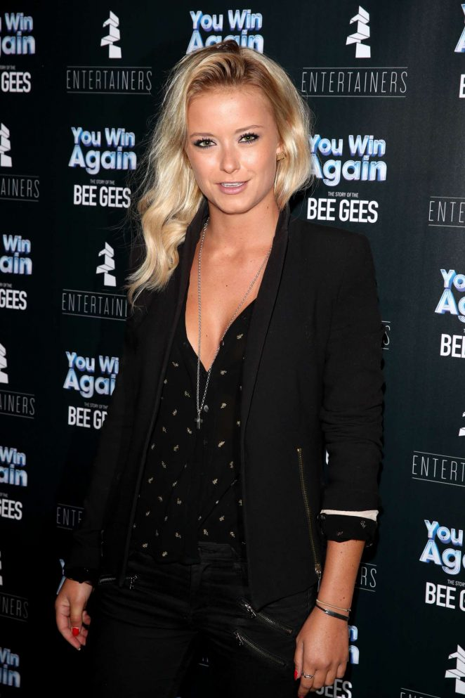 Olivia Bentley - 'You Win Again The Story of the Bee Gees' Premiere in London