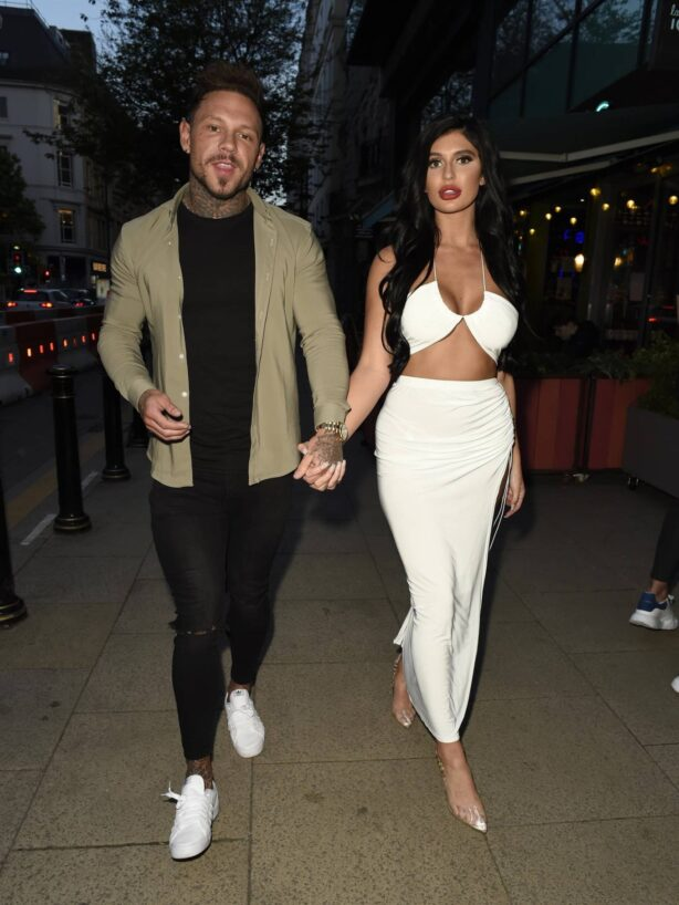 Olivia Bracy - Attend the Your Restaurant Launch Party in Manchester