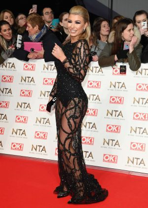 Olivia Buckland - 2017 National Television Awards in London