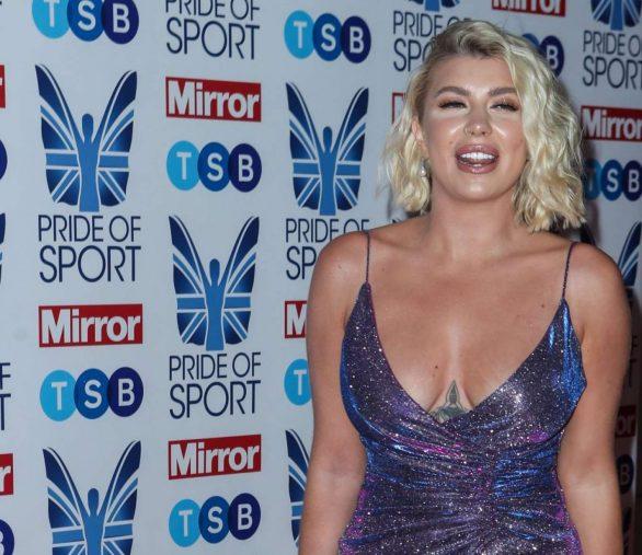 Olivia Buckland 2019 : Olivia Buckland – 2019 Daily Mirror Pride of Sport Awards-06