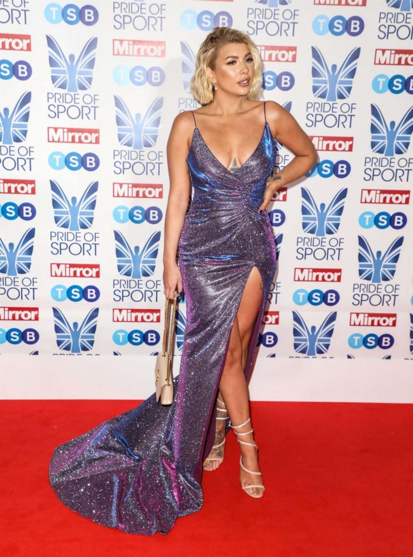 Olivia Buckland - 2019 Daily Mirror Pride of Sport Awards in London