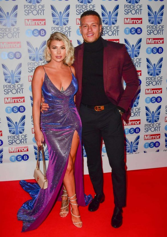 Olivia Buckland 2019 : Olivia Buckland – 2019 Daily Mirror Pride of Sport Awards-12