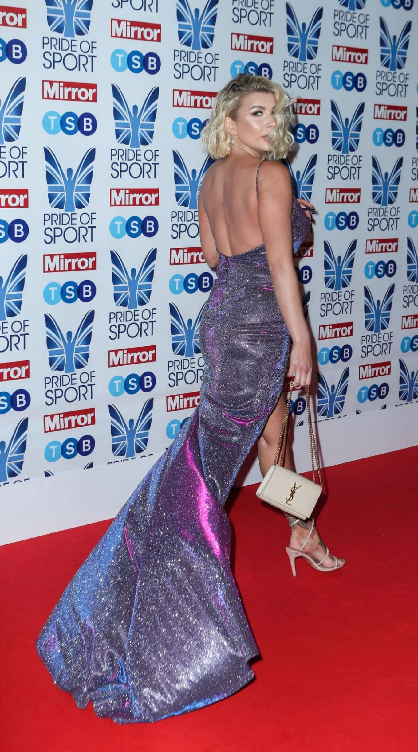 Olivia Buckland 2019 : Olivia Buckland – 2019 Daily Mirror Pride of Sport Awards-15