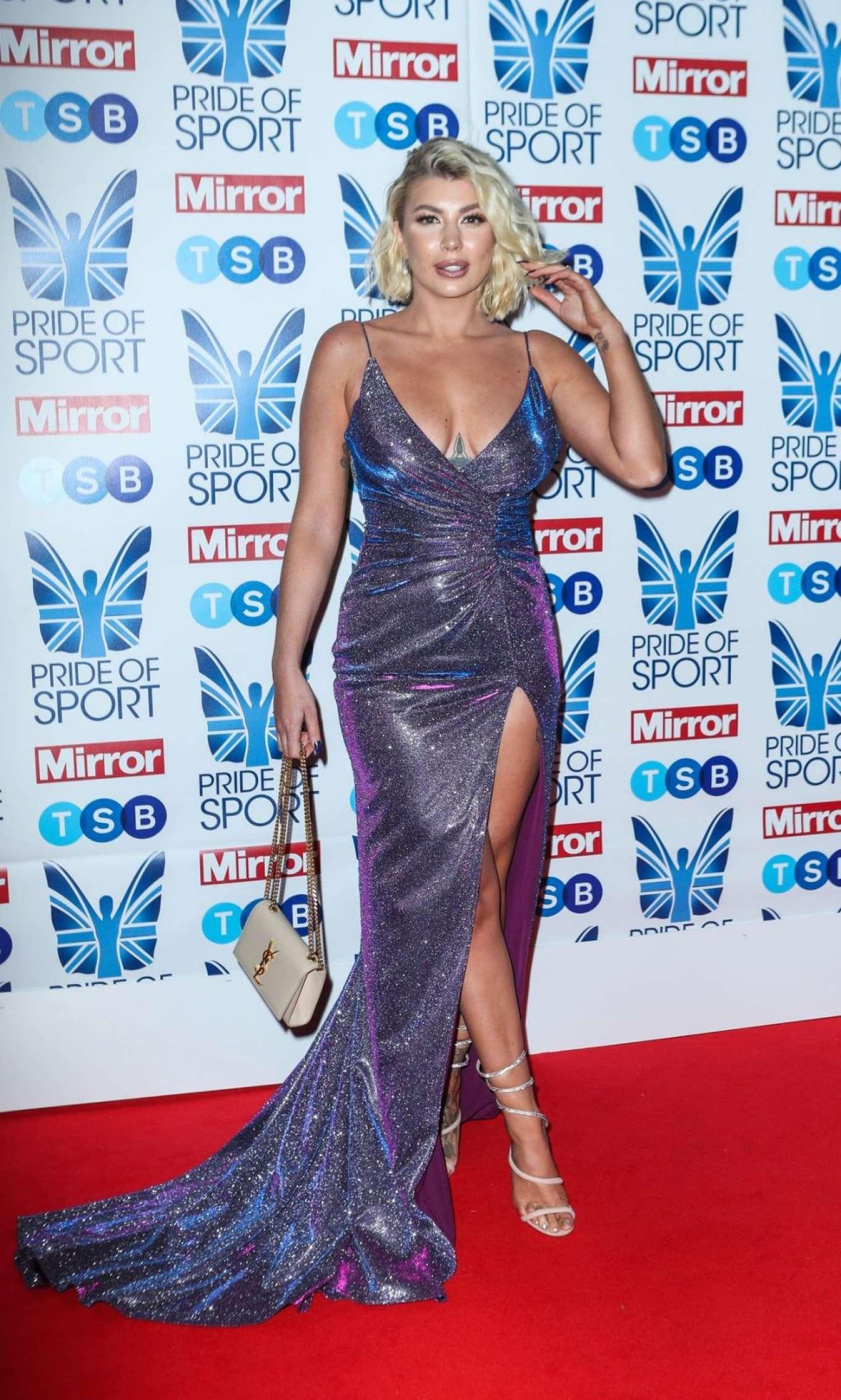 Olivia Buckland 2019 : Olivia Buckland – 2019 Daily Mirror Pride of Sport Awards-28