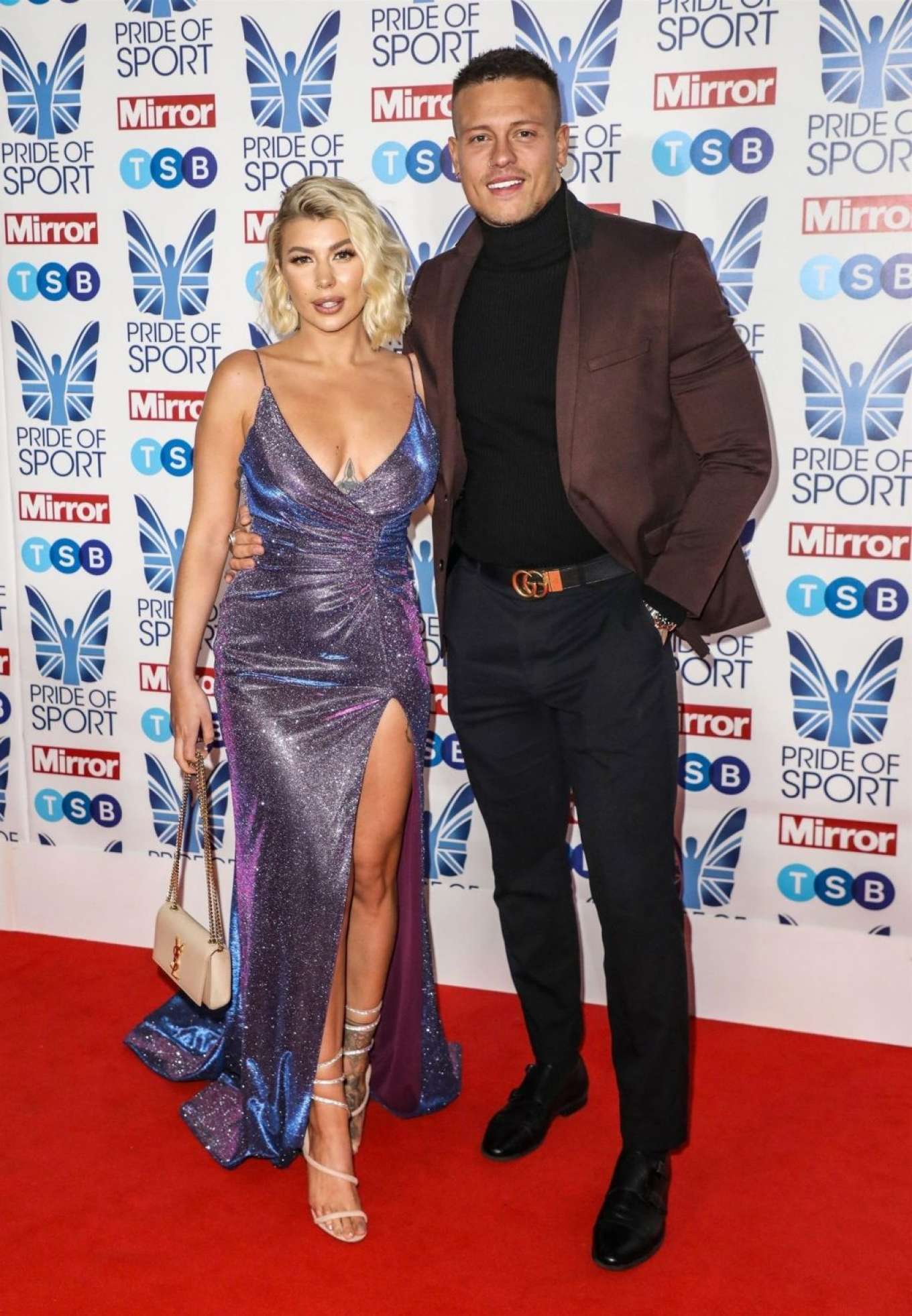 Olivia Buckland 2019 : Olivia Buckland – 2019 Daily Mirror Pride of Sport Awards-34