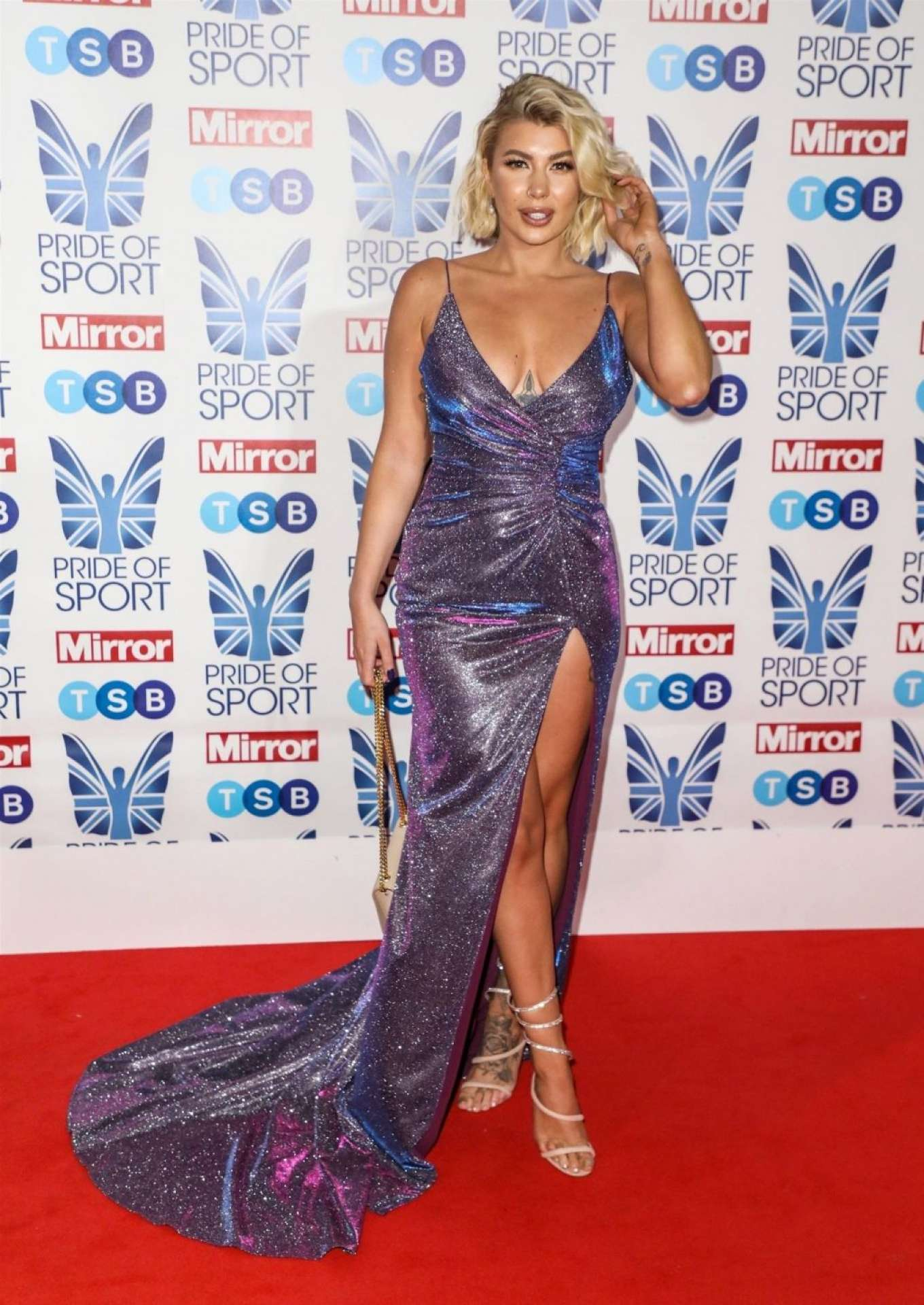 Olivia Buckland 2019 : Olivia Buckland – 2019 Daily Mirror Pride of Sport Awards-39