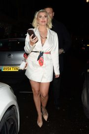 Olivia Buckland - Arriving at Bagatelle London in Mayfair