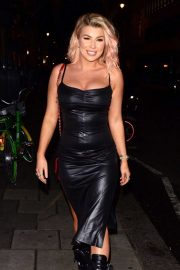 Olivia Buckland at the PrettyLittleThing Launch in London