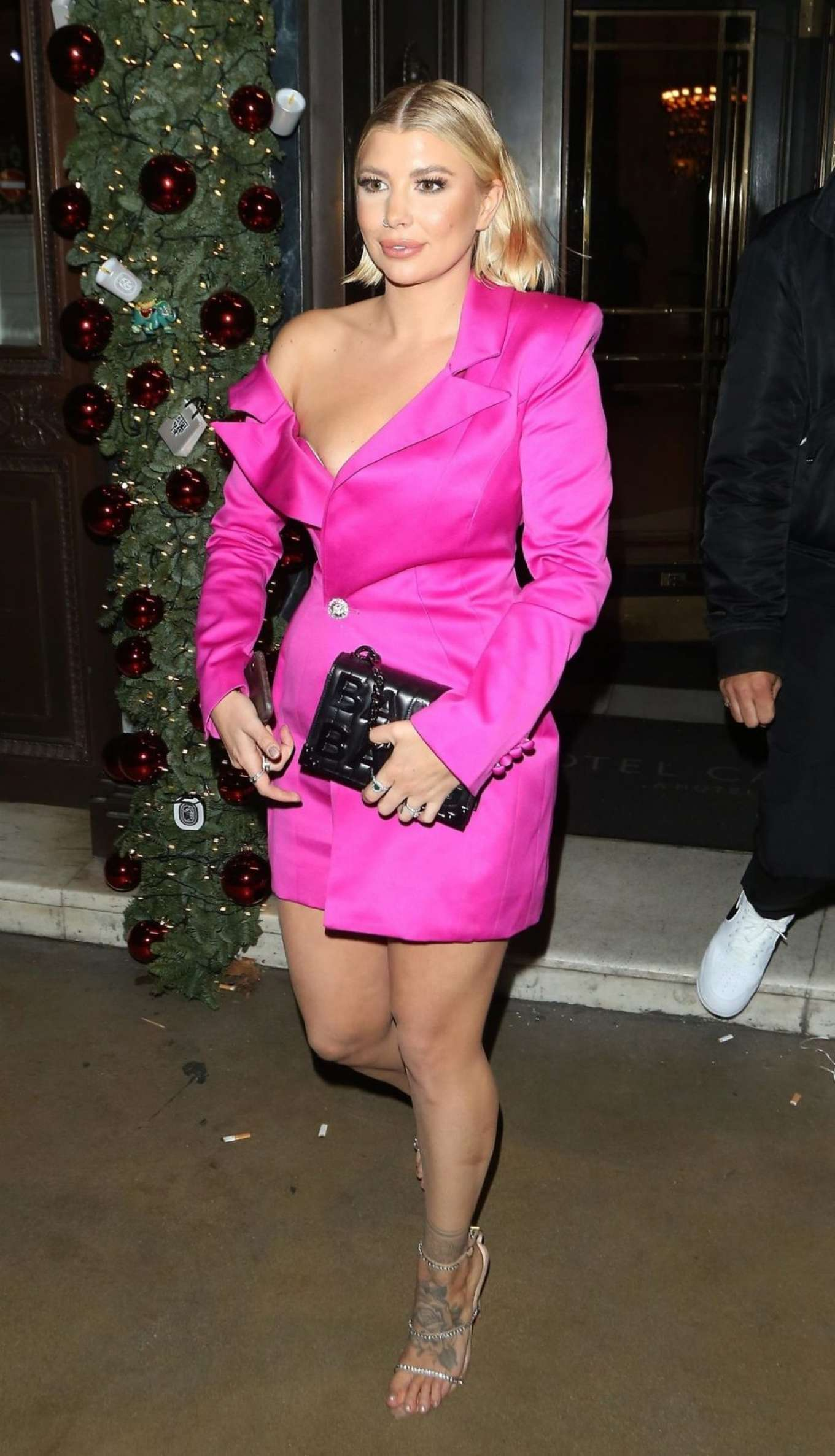 Olivia Buckland 2019 : Olivia Buckland attends House of CB Christmas Party at Cafe Royal Hotel in London-05