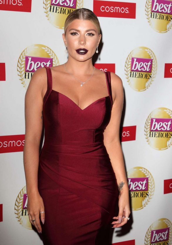 Olivia Buckland - Best Heroes Awards 2019 in London