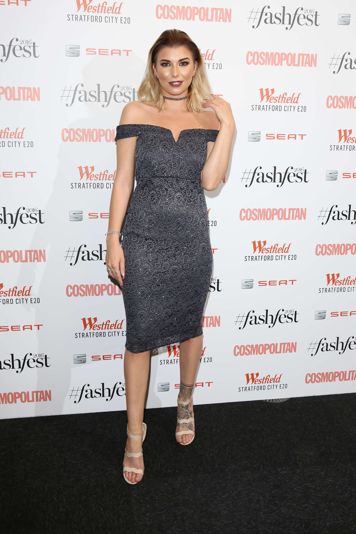 Olivia Buckland - Cosmopolitan #Fashfest 2016 VIP Show and Party in London