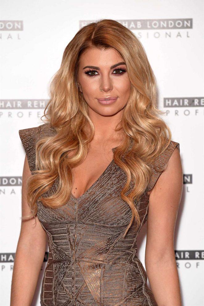 Olivia Buckland - Hair Rehab London Line Photocall