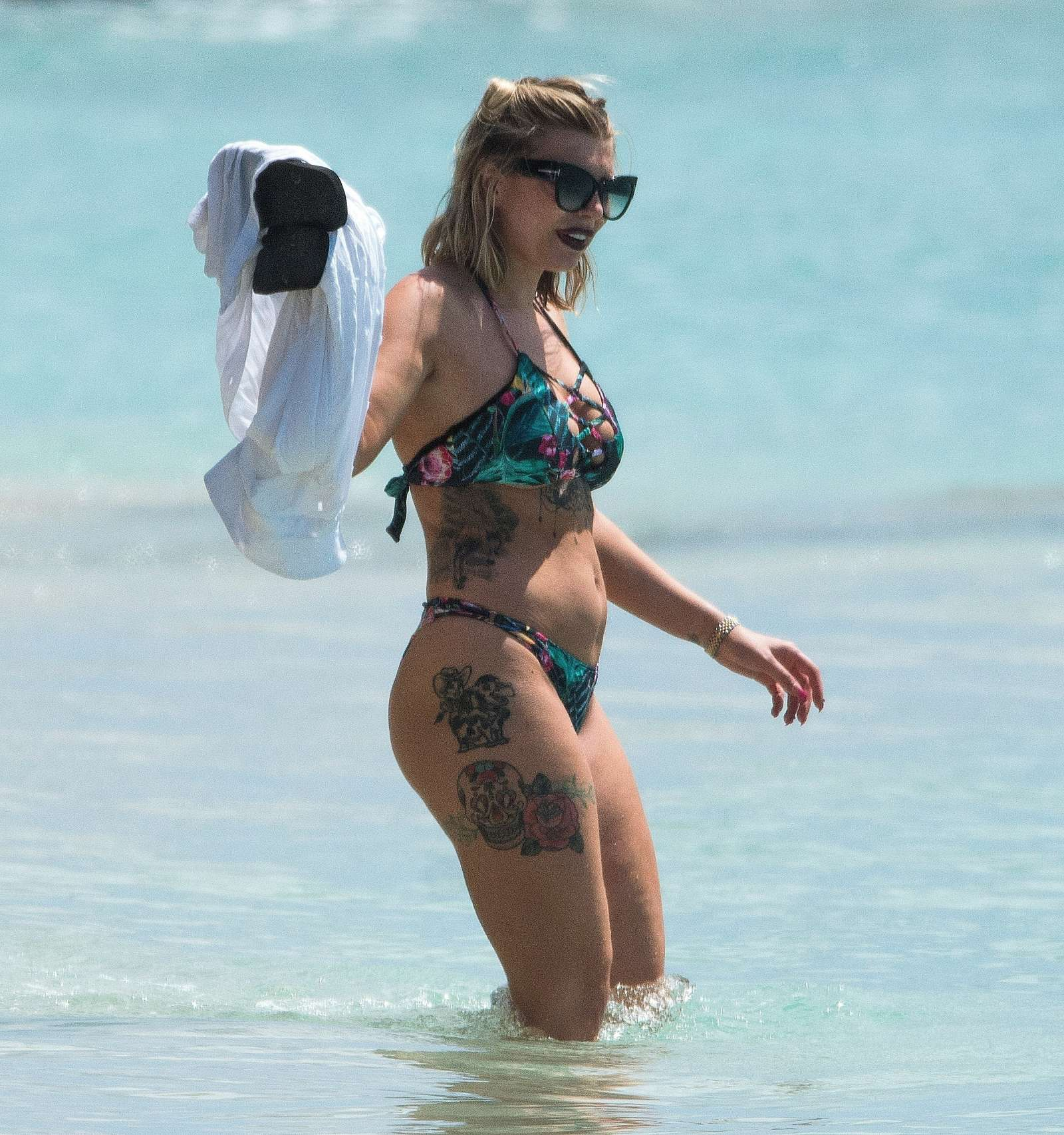Barbados underwire bikini top by cali rae online
