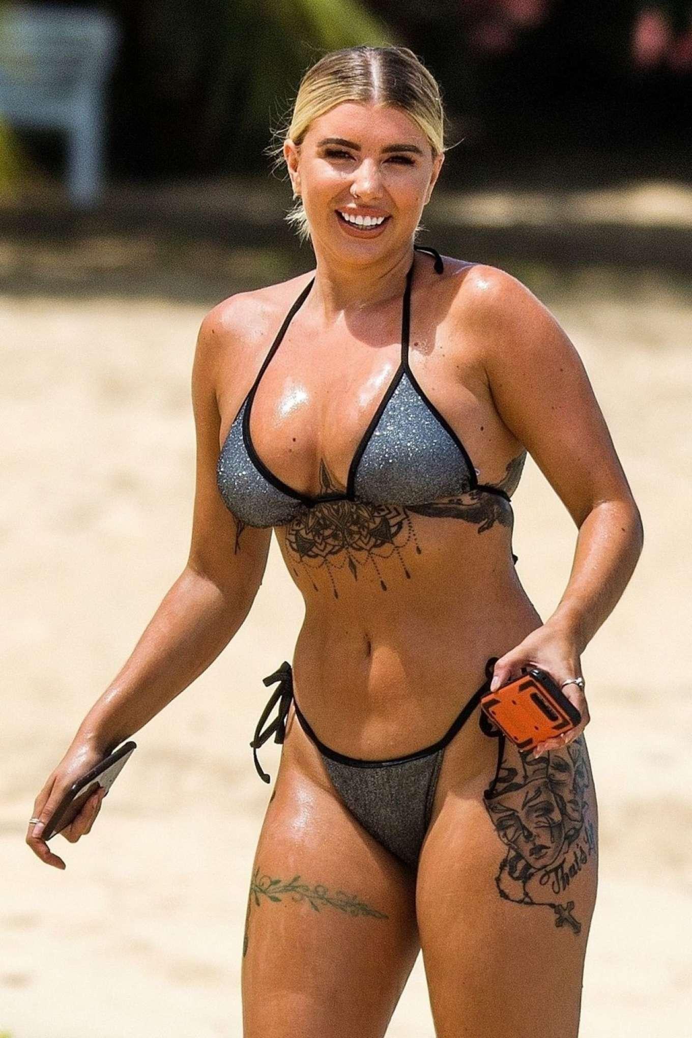 Olivia Buckland in Bikini in Barbados
