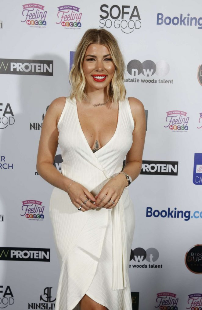 Olivia Buckland - James Inghams Jog on to Cancer Event in London
