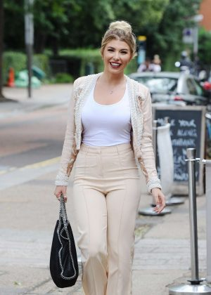 Olivia Buckland - Leaving ITV Studios in London